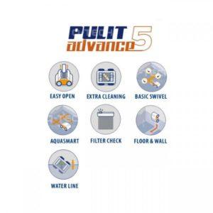 Limpiafondos Pulit Advance + 5 0