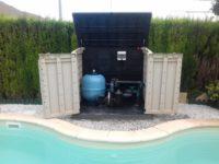 caseta depuradora piscina